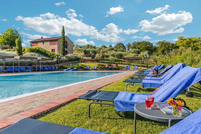 Villa Moraiolo, casa vacanza a Ambra