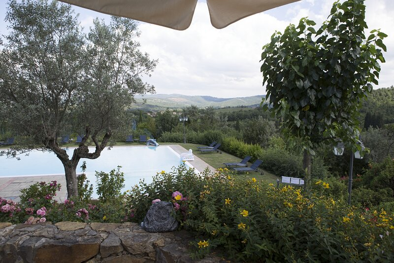 Villa Leccino, holiday rental in Ambra