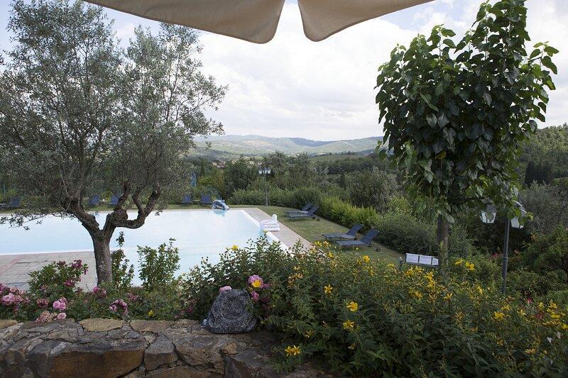 Villa Leccino, casa vacanza a Ambra