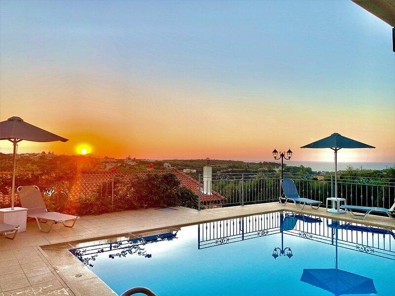 Private Pool,Privacy,5' from Beach, location de vacances à Asteri