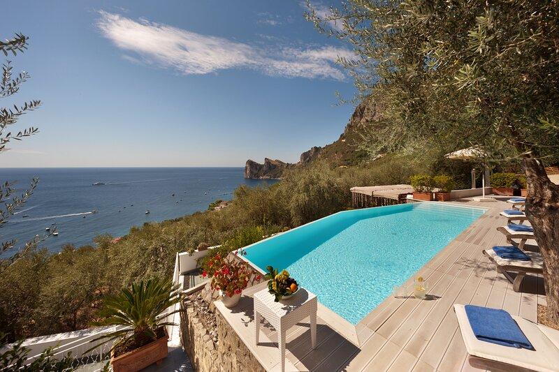 Villa Superba, holiday rental in Sirenuse