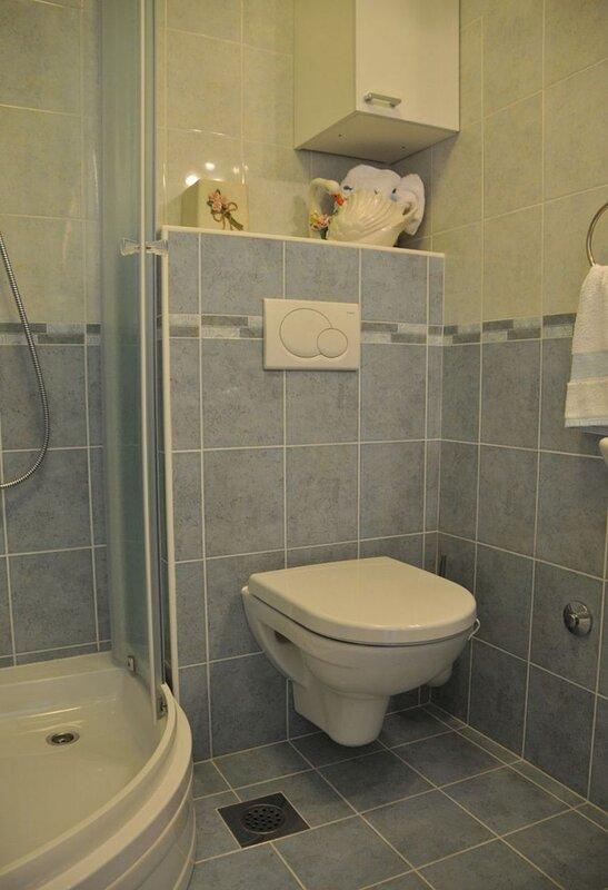 A1-Plavi(2+1): bathroom with toilet