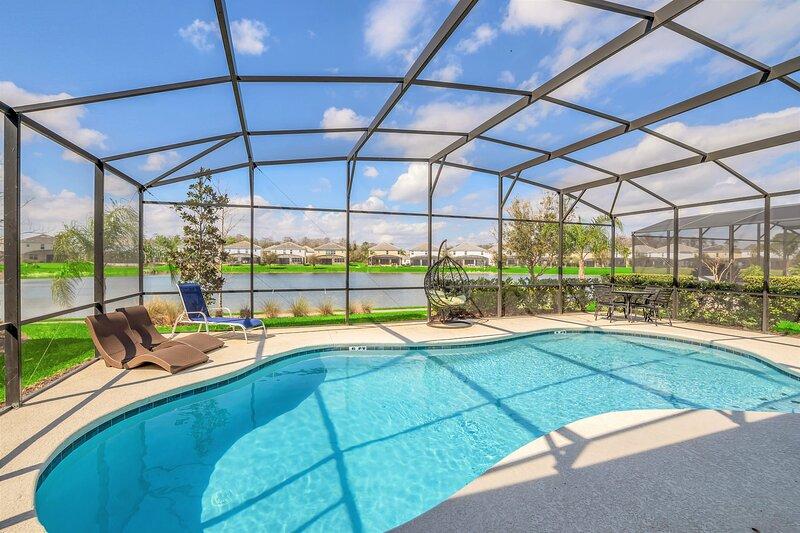 Family Resort - 6BR Luxury Home - Private Pool, Games, BBQ!, alquiler de vacaciones en Kissimmee
