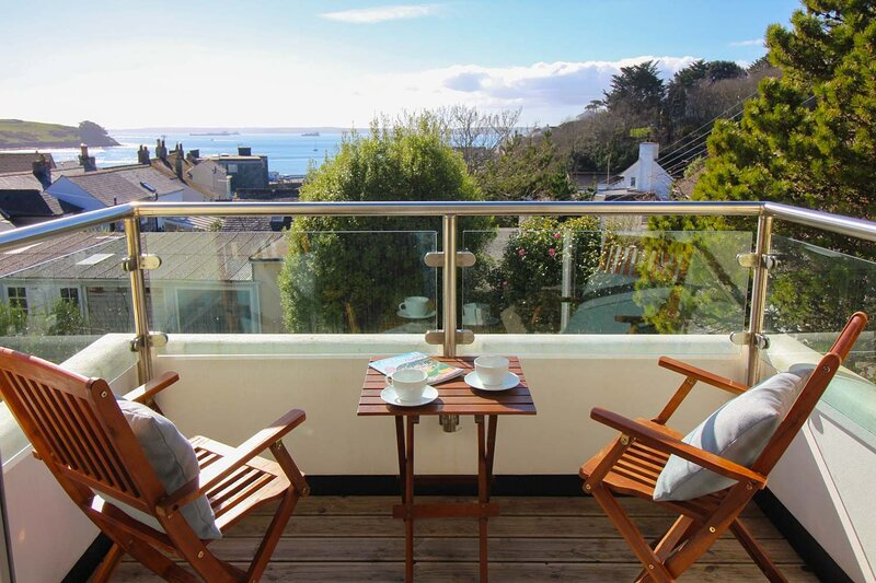 Aloft, holiday rental in St Mawes