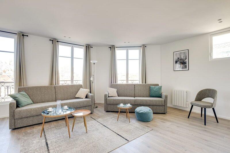 157 Suite Sacha Wonderful, 3 BDR APT, New, Paris, casa vacanza a Gentilly