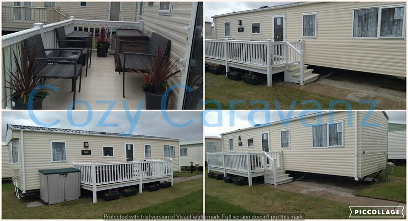 Beautiful & spacious ABI Tebay 3 bed-roomed caravan, next to the beach from £165, vacation rental in Kinmel Bay