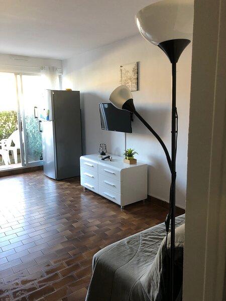 Agréable studio - terrasse - piscine, Ferienwohnung in Agde