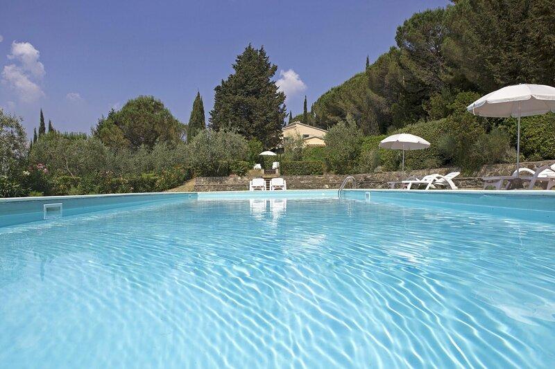 La Miniera Villa Sleeps 20 with Pool and WiFi - 5883493, holiday rental in Montecatini Val di Cecina