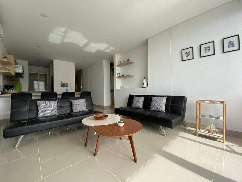 El Tucan,Precioso Apartamento con vista al Mar y playa privada, alquiler de vacaciones en Gaira