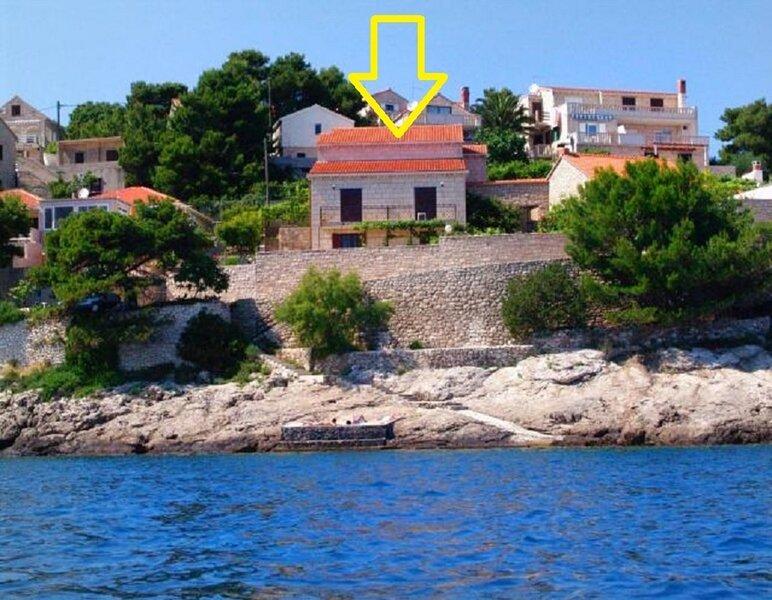 Ref - 20 m from sea :  A2(4) - Cove Puntinak (Selca), alquiler vacacional en Selca
