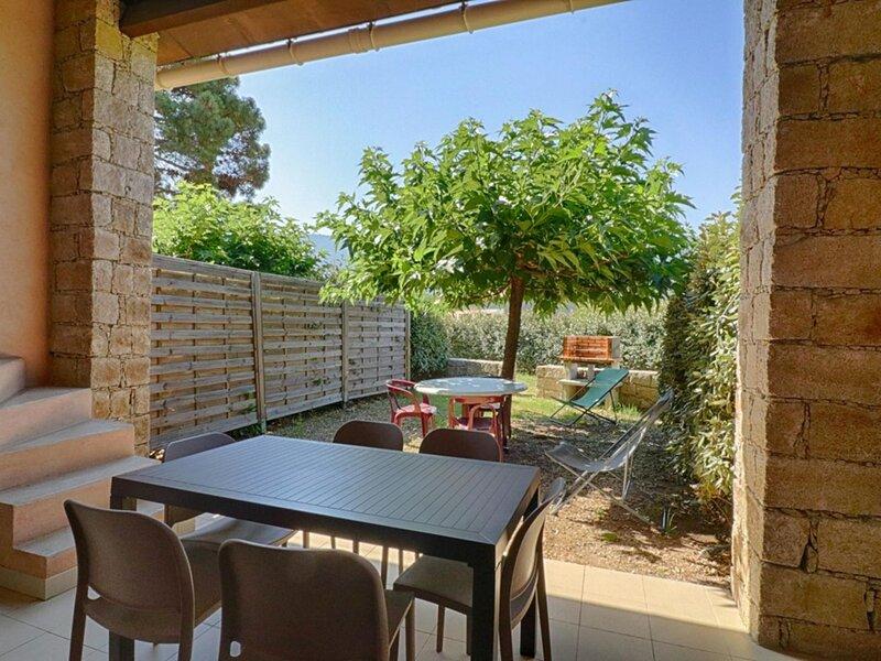 MASORCHIA -Appartement en  rez de jardin La Liscia 1, alquiler de vacaciones en Tiuccia