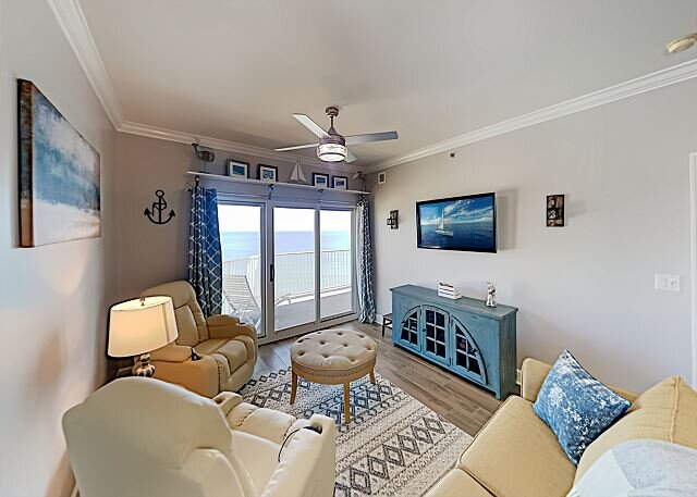 Seawind | Gulf-View Corner Unit | Heated Beachfront Pool, Hot Tub & Gym, alquiler de vacaciones en Gulf Shores