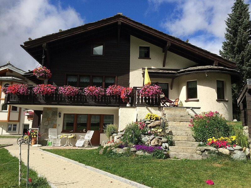 Chalet Sunstar, grosse Wohnung, location de vacances à Saas-Fee