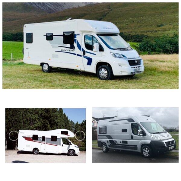 Motorhome hire Heanor Derbyshire, holiday rental in Swanwick