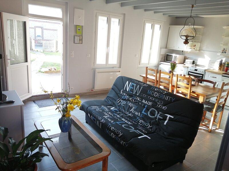 Le Gîte Mayann, vacation rental in Sassetot-le-Mauconduit
