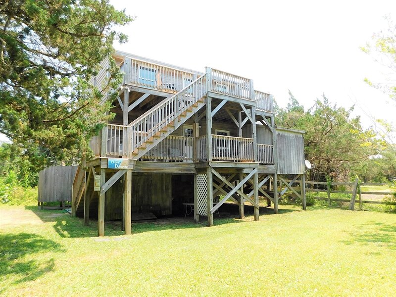 Dune Dreamer-Relaxing, comfortable home off the beaten path, aluguéis de temporada em Ocracoke