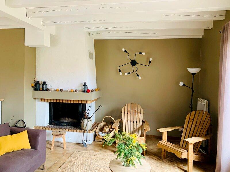 ''La Ganivelle'' belle maison pour 10 personnes à Biscarrosse, location de vacances à Landes