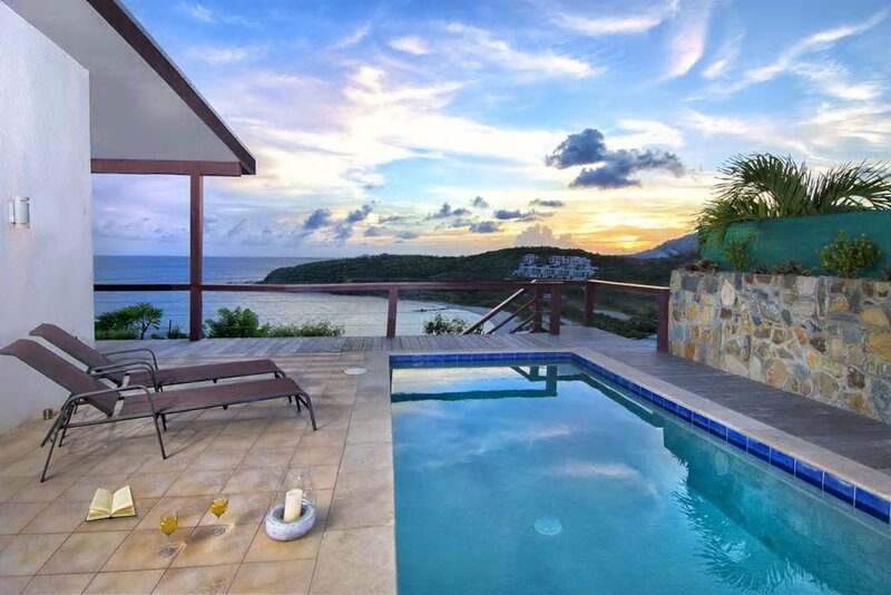 Spacious villa with swimming-pool, holiday rental in Cole Bay