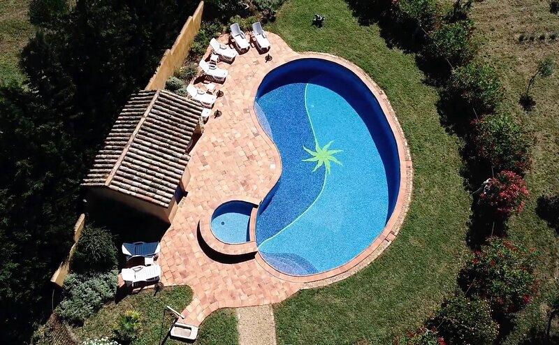 Provence Le Mas des Lavandes -Ferienhaus Tilleul mit Pool, mitten in der Natur, location de vacances à La Baume-de-Transit