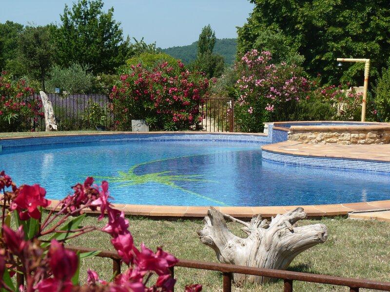 Provence Le Mas des Lavandes - Ferienhaus Murier mit Pool, mitten in der Natur, location de vacances à La Baume-de-Transit