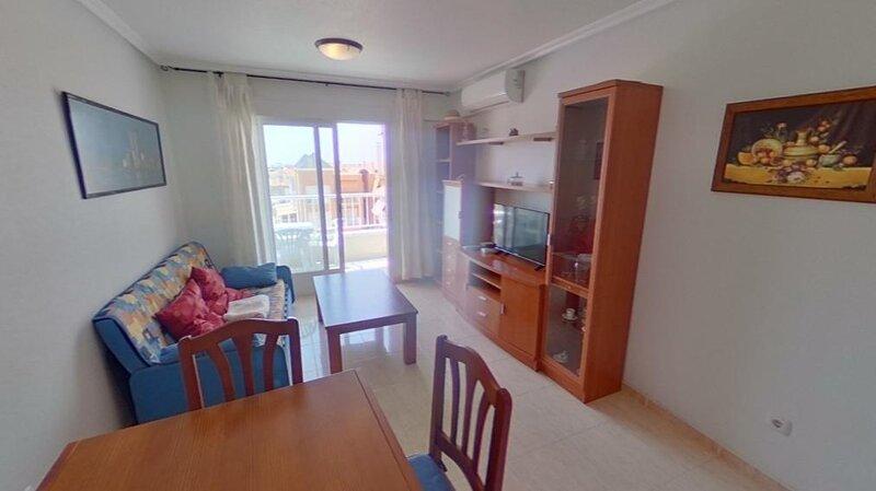 Alquiler un apartamento de 50 m2 cerca de Gran Playa en Santa Pola-España, alquiler vacacional en Elche