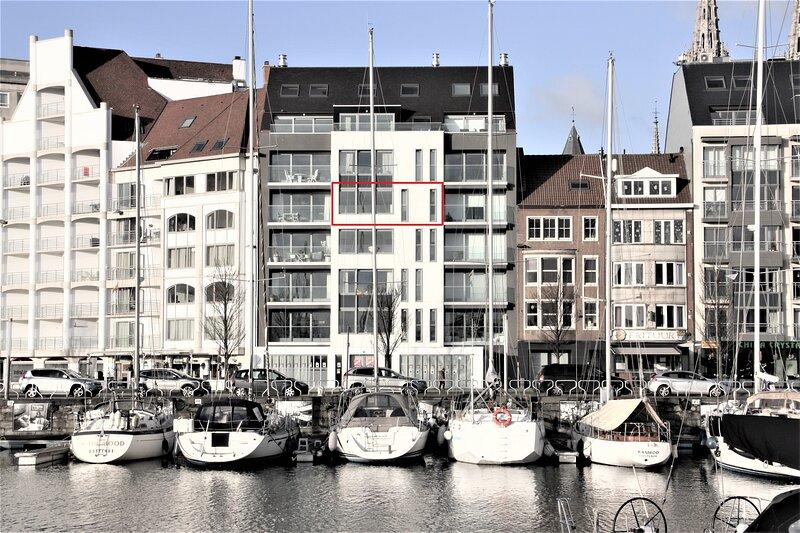 Appartement Zeilboot in de Jachthaven van Oostende, location de vacances à Ostende
