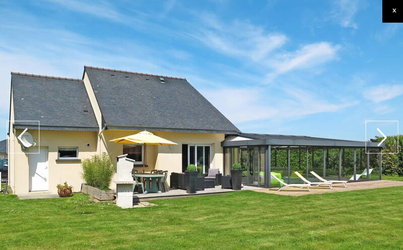 Spacious villa with swimming-pool, vacation rental in La Forest-Landerneau