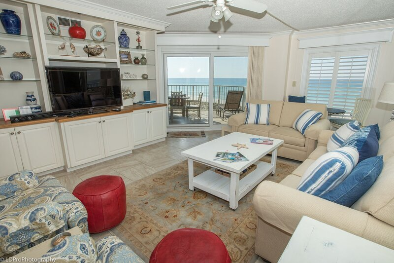 Inlet Reef 204 is a stunning 2 BR Gulf front - Recently Renovated, vacation rental in Shalimar