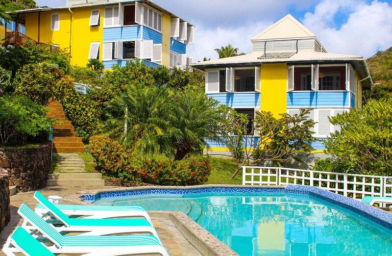 Sugarapple Inn Ocean View, alquiler de vacaciones en Mustique