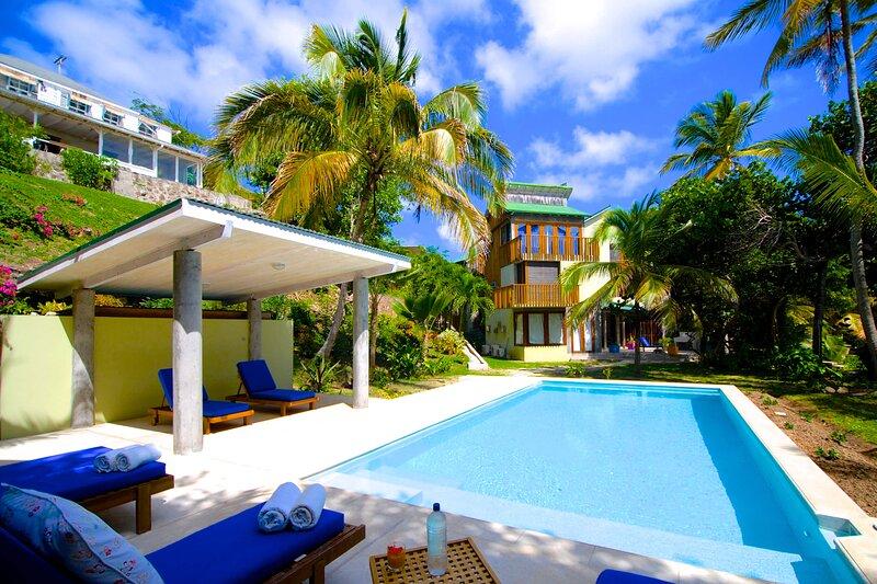 New Eden Villa & Anthony Eden Cottage, alquiler de vacaciones en Mustique