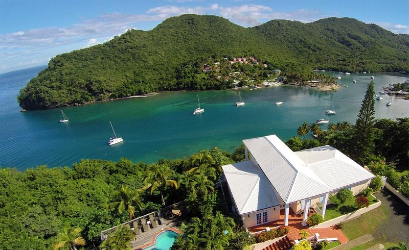 The Great House of Marigot Bay, holiday rental in Marigot Bay