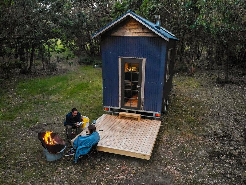 Geelong Manna Gum Tiny House, alquiler de vacaciones en Birregurra
