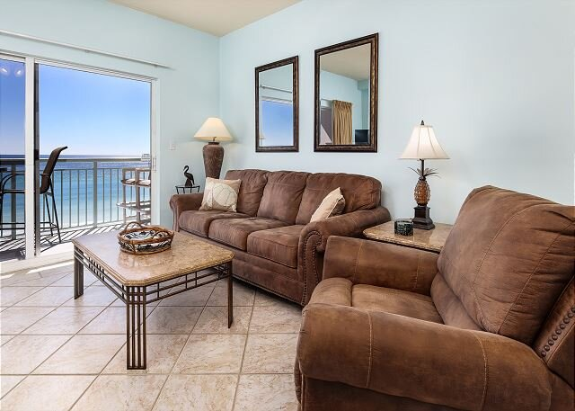 Pelican Isle 602: TOP FLOOR 1BR/2BA OFFERS THE BEST VIEWS AROUND! VERY COMFY, casa vacanza a Mary Esther