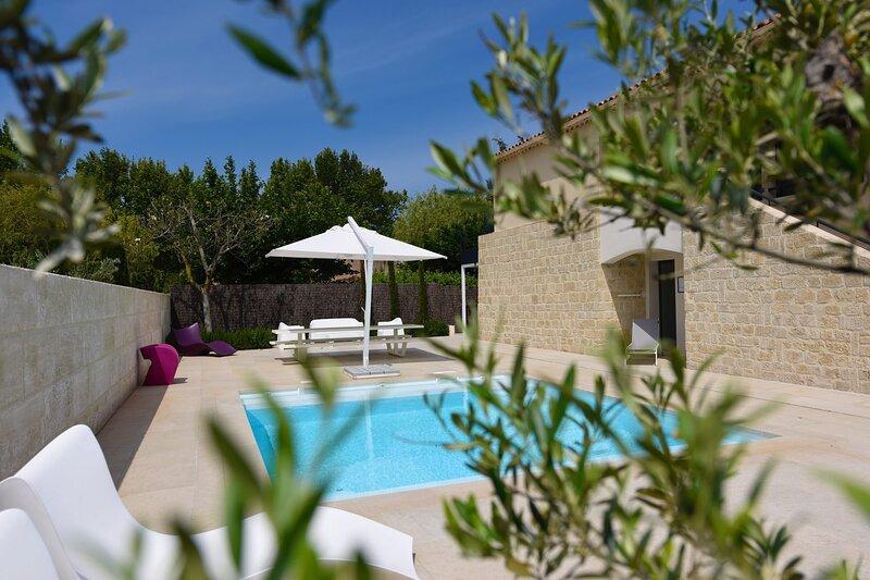 LS1-366 FLOURISSENT - Great rental with private pool for 10 people, location de vacances à Maussane-les-Alpilles