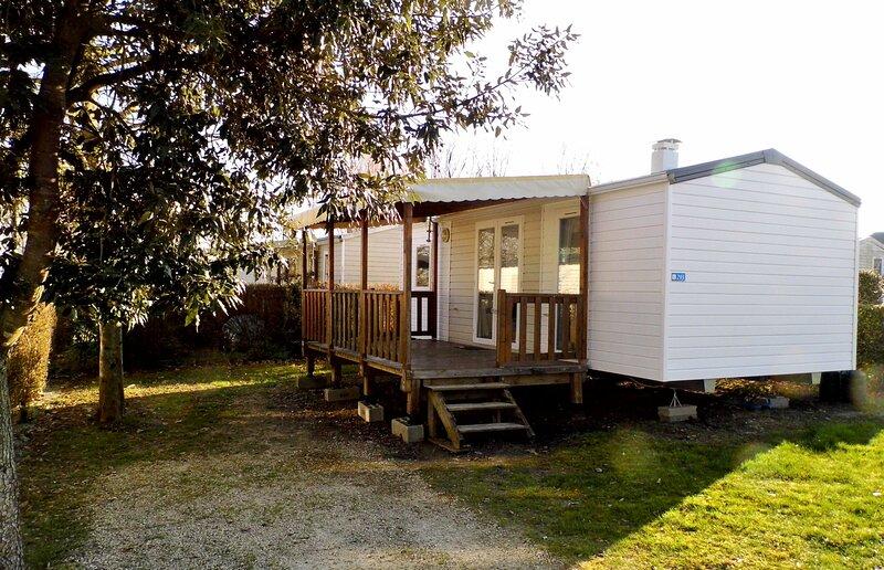 jolie mobil-home en Val de Loire, holiday rental in Molineuf