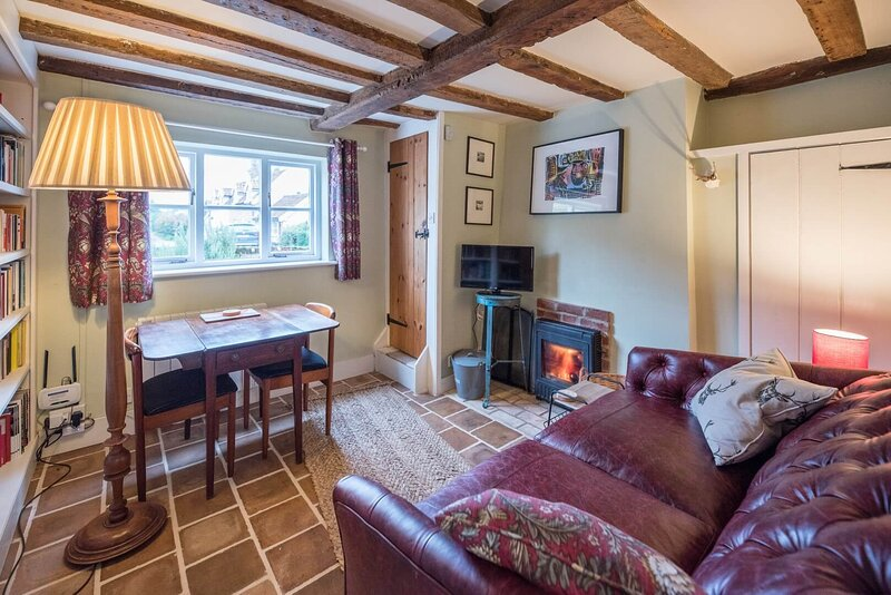 Library Cottage, Marlesford (Air Manage Suffolk), holiday rental in Blaxhall