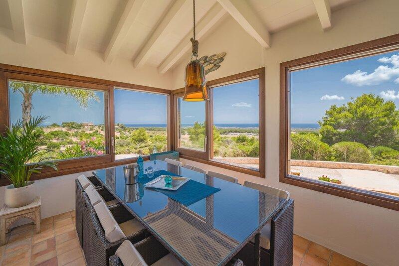 Sea view house Portocolom, vacation rental in Portocolom