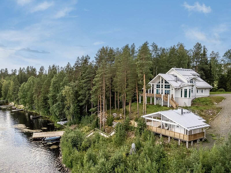 Villa lago, holiday rental in Rautavaara