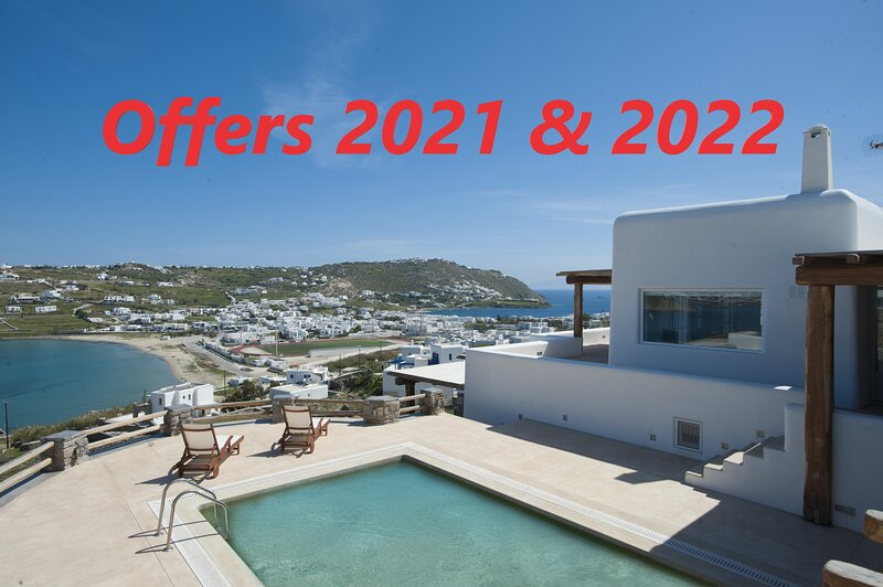 BRAND NEW: Entheos Grand Villa Mykonos, holiday rental in Ornos