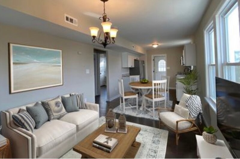 Shore house condo, holiday rental in Long Beach Township