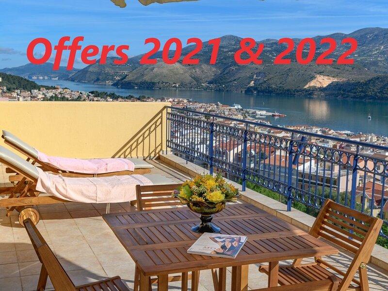 Entheos City Panorama, holiday rental in Argostolion