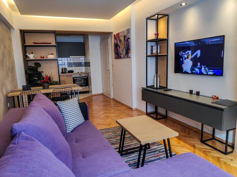 Apartment INFINITY | Strict Center, Free Parking, location de vacances à Pestani