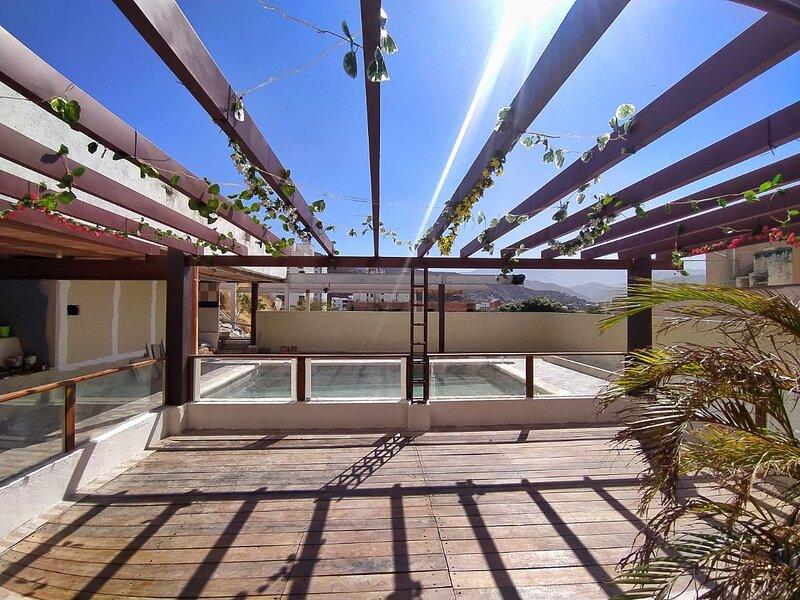 El hospedaje se encuentra en Santa Marta, Rodadero, alquiler de vacaciones en Gaira