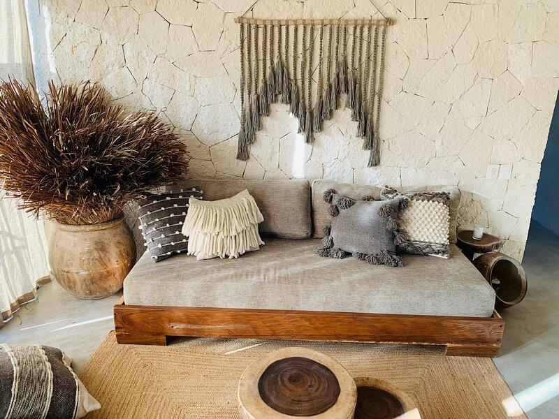 Luxury Boho Apartment 12 Vida Tulum, alquiler de vacaciones en Macario Gómez