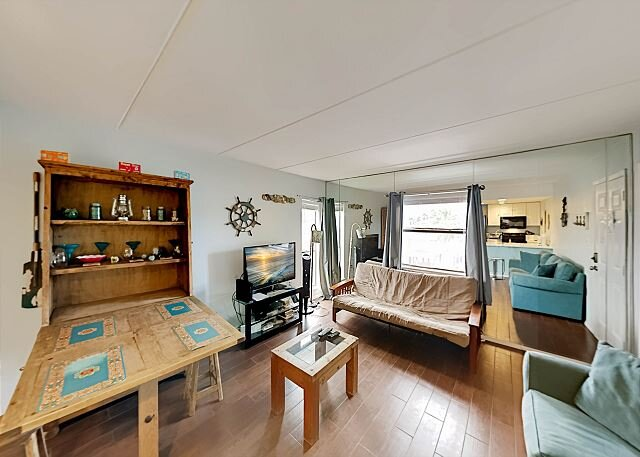 Contemporary Condo | Balcony & Shared Pool Access | 2-Minute Walk to Beach, vacation rental in South Padre Island