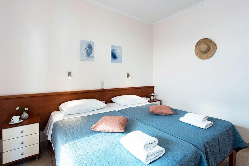 Corfu Shell Apts- Sand, holiday rental in Barbati
