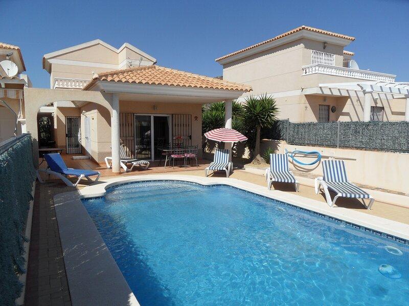 Casa Breda, detached 3 bedroom villa with private pool, WIFI, Airco etc, holiday rental in San Juan de los Terreros