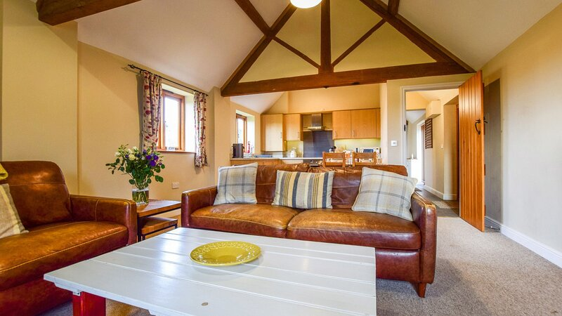 Cider House - A spacious barn conversion with log burner, perfect families, and, vacation rental in Dorsington