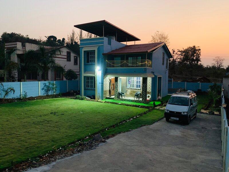 Blue House, aluguéis de temporada em Raigad District