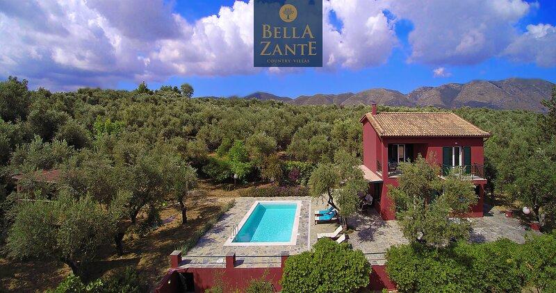 BellaZante Villa Irene, aluguéis de temporada em Kallithea